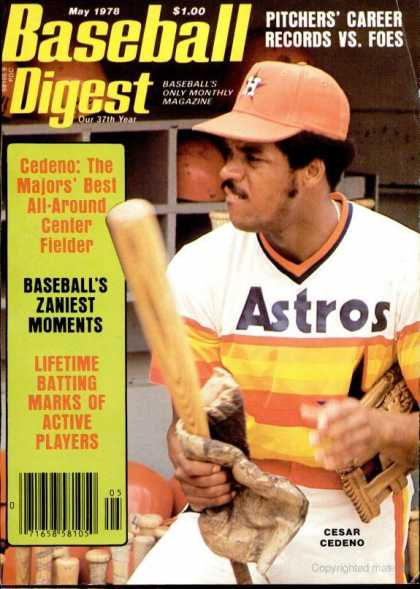 Baseball Digest - May 1978