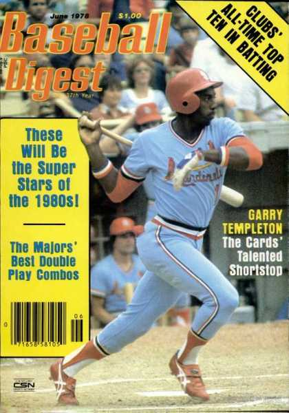 Baseball Digest - June 1978