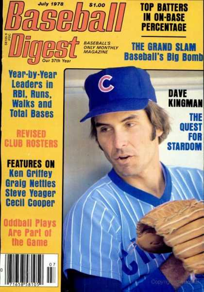 Baseball Digest - July 1978