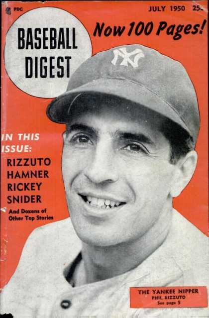 Baseball Digest - July 1950