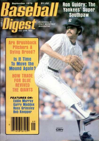 Baseball Digest - September 1978