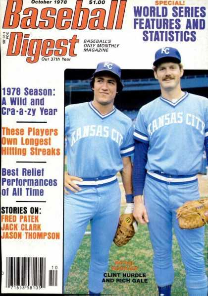 Baseball Digest - October 1978