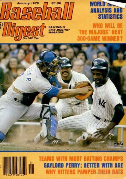 Baseball Digest - January 1979