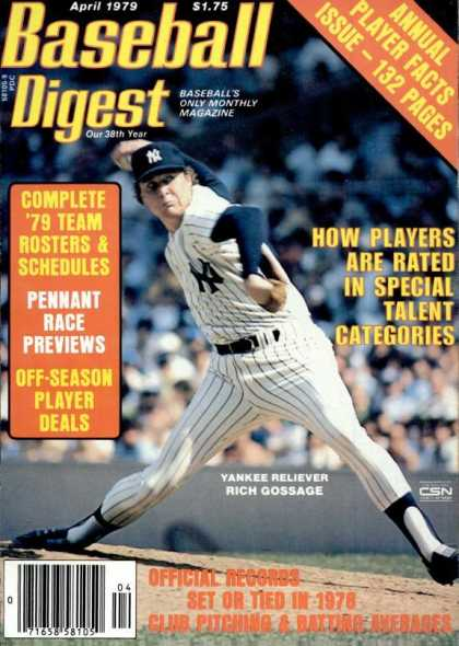 Baseball Digest - April 1979