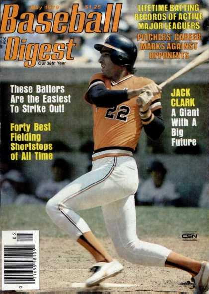 Baseball Digest - May 1979