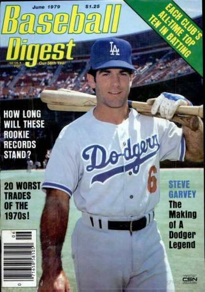 Baseball Digest - June 1979