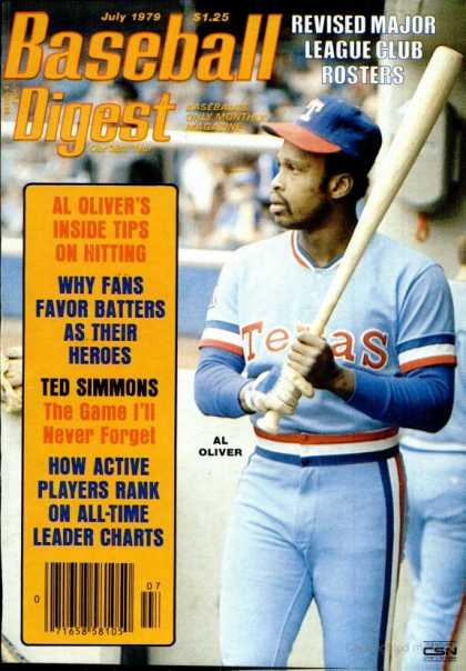 Baseball Digest - July 1979