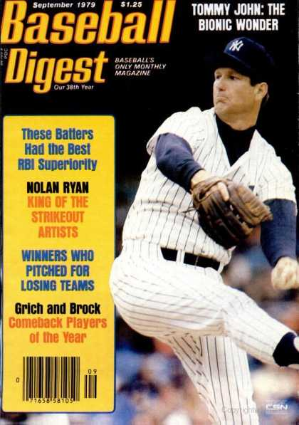 Baseball Digest - September 1979