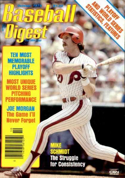 Baseball Digest - October 1979