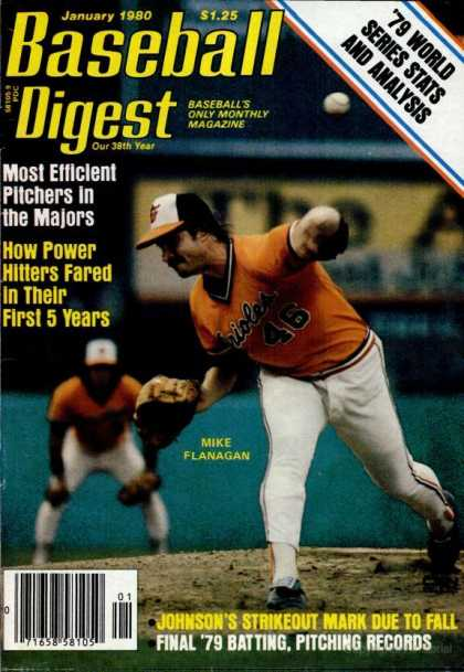 Baseball Digest - January 1980