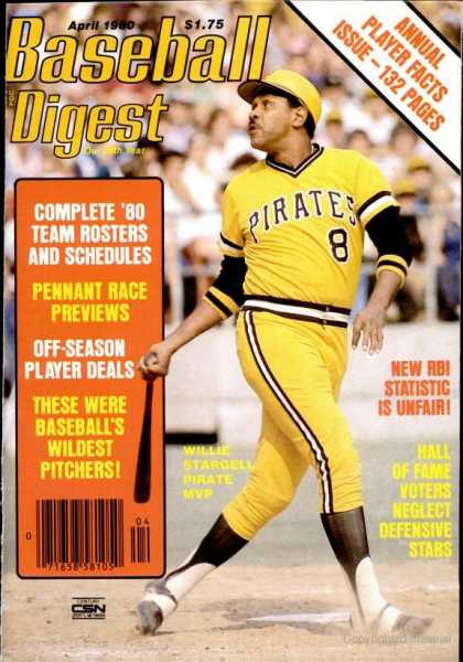 Baseball Digest - April 1980