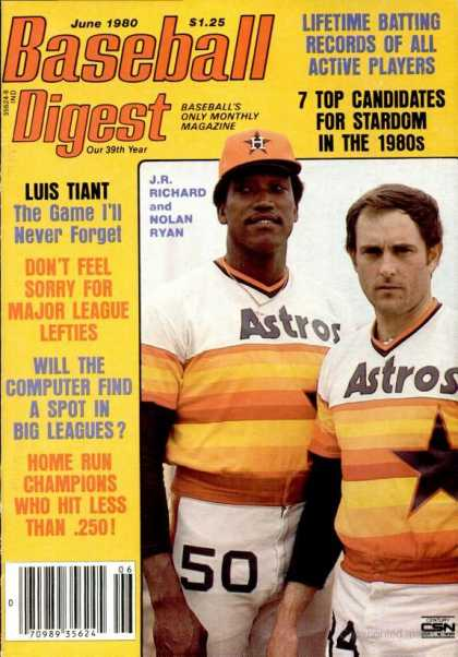 Baseball Digest - June 1980