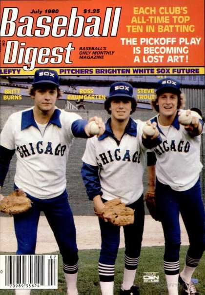 Baseball Digest - July 1980
