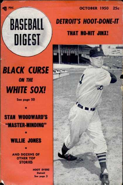 Baseball Digest - October 1950