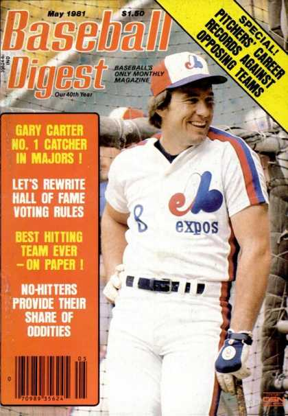 Baseball Digest - May 1981