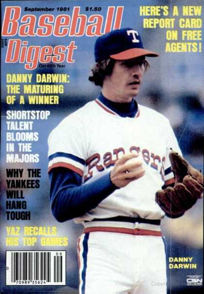 Baseball Digest - September 1981