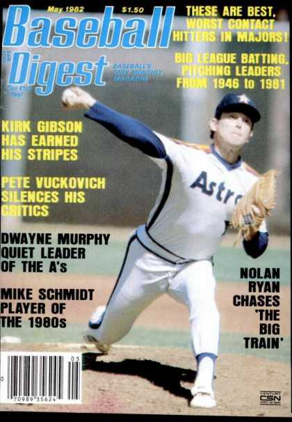 Baseball Digest - May 1982