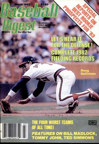 Baseball Digest - March 1983