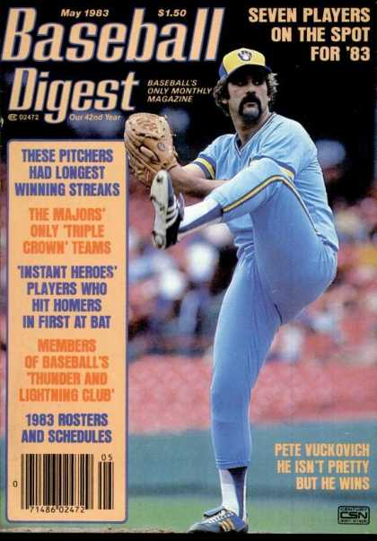 Baseball Digest - May 1983