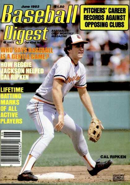 Baseball Digest - June 1983