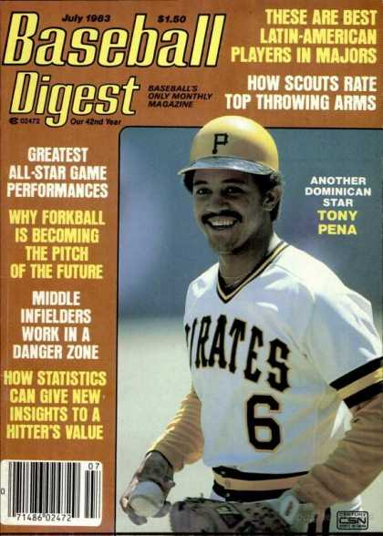 Baseball Digest - July 1983