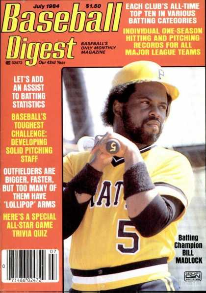 Baseball Digest - July 1984