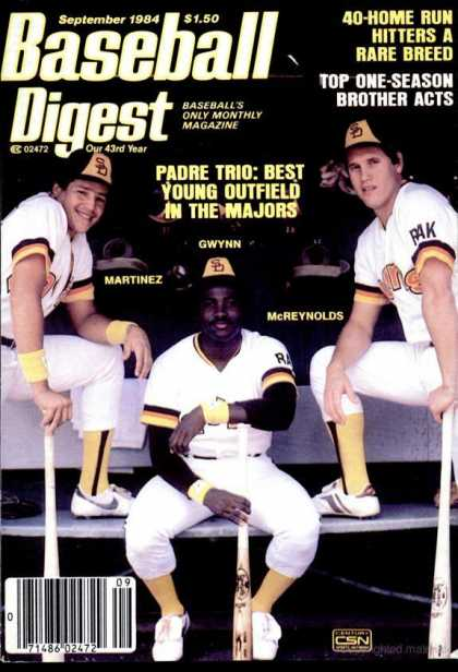 Baseball Digest - September 1984
