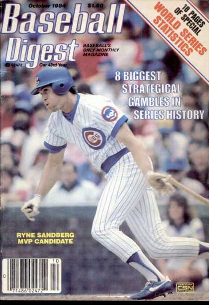 Baseball Digest - October 1984