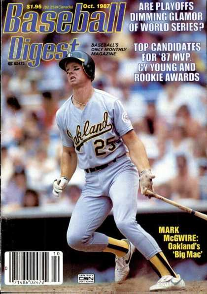 Baseball Digest - October 1987