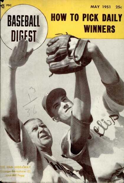 Baseball Digest - May 1951