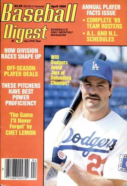 Baseball Digest - April 1989