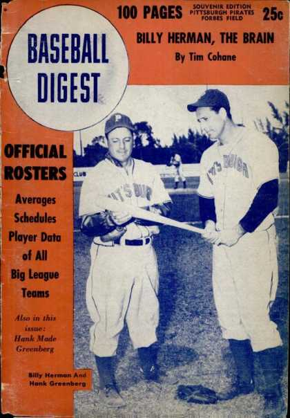 Baseball Digest - May 1947