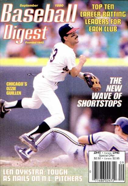 Baseball Digest - September 1990