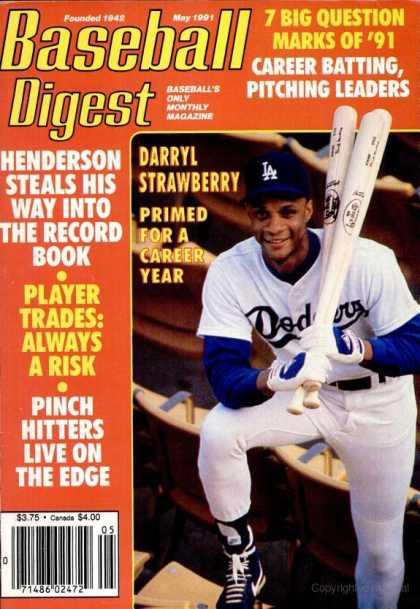 Baseball Digest - May 1991