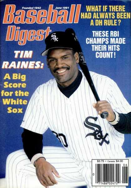Baseball Digest - June 1991