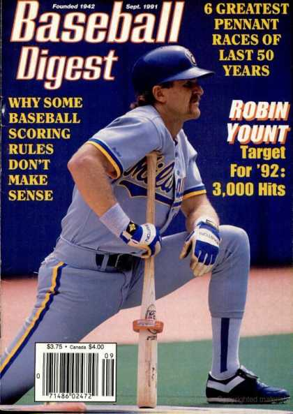 Baseball Digest - September 1991