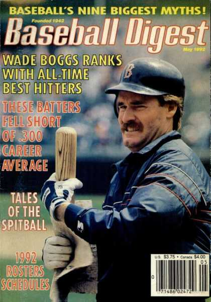 Baseball Digest - May 1992