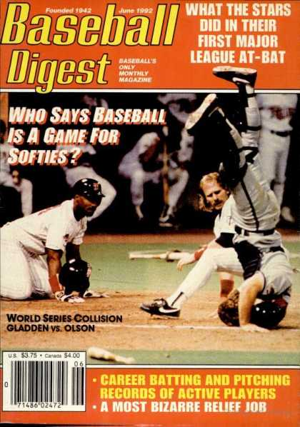 Baseball Digest - June 1992