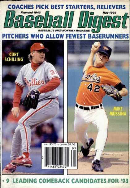 Baseball Digest - May 1993