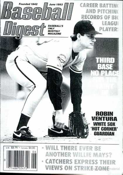 Baseball Digest - June 1993