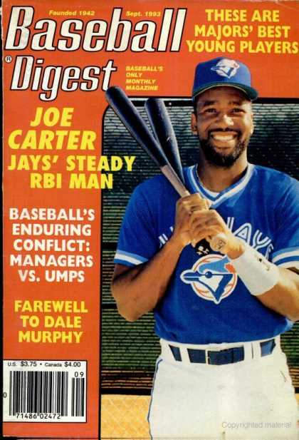 Baseball Digest - September 1993