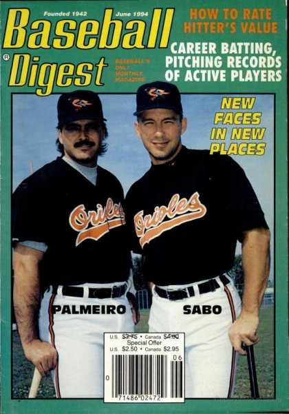 Baseball Digest - June 1994