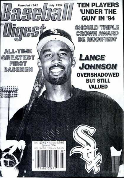 Baseball Digest - July 1994