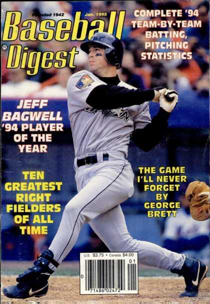Baseball Digest - January 1995