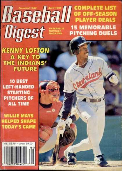 Baseball Digest - April 1995