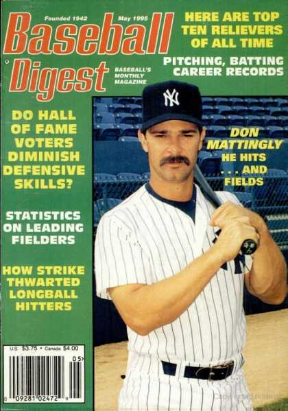 Baseball Digest - May 1995