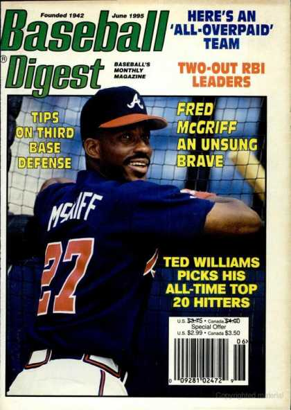 Baseball Digest - June 1995