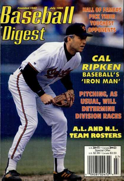 Baseball Digest - July 1995