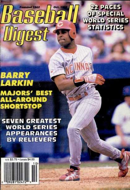 Baseball Digest - October 1995