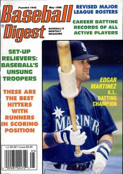 Baseball Digest - May 1996